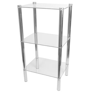 Reviews Three Shelf Etagere Bookcase by Home Basics