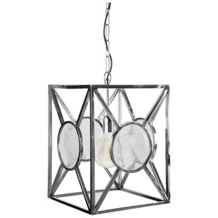 Marisa 1-Light Square/Rectangle Pendant by Brayden Studio