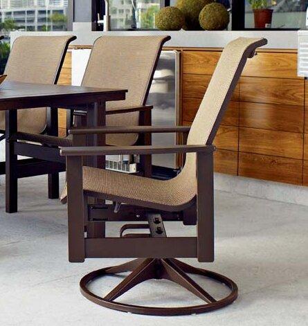 Telescope Casual Leeward Swivel Patio Dining Chair Wayfair