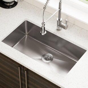 Quickview Mr Direct Stainless Steel 31 X 18 Undermount Kitchen Sink