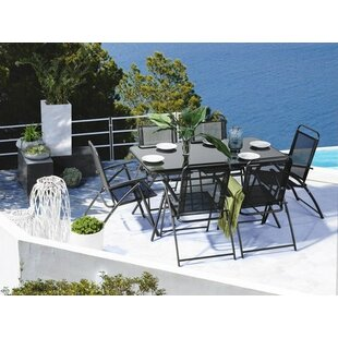 Goldfarb Outdoor 7 Piece Dining Set by Eb..
