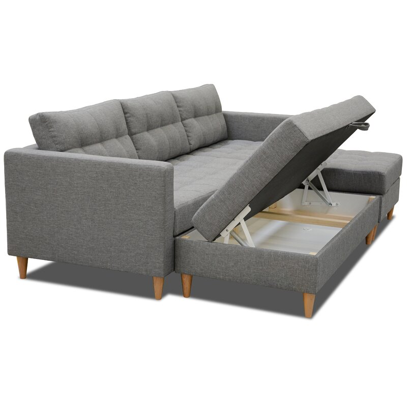 Home Loft Concept Ecksofa Fandy | Wayfair.de