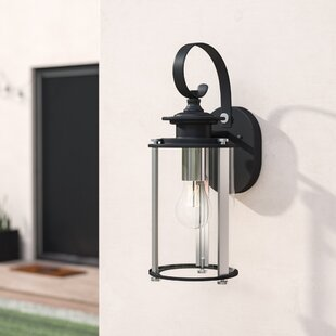 17 Stories Evgenia 1-Light Outdoor Wall Lantern