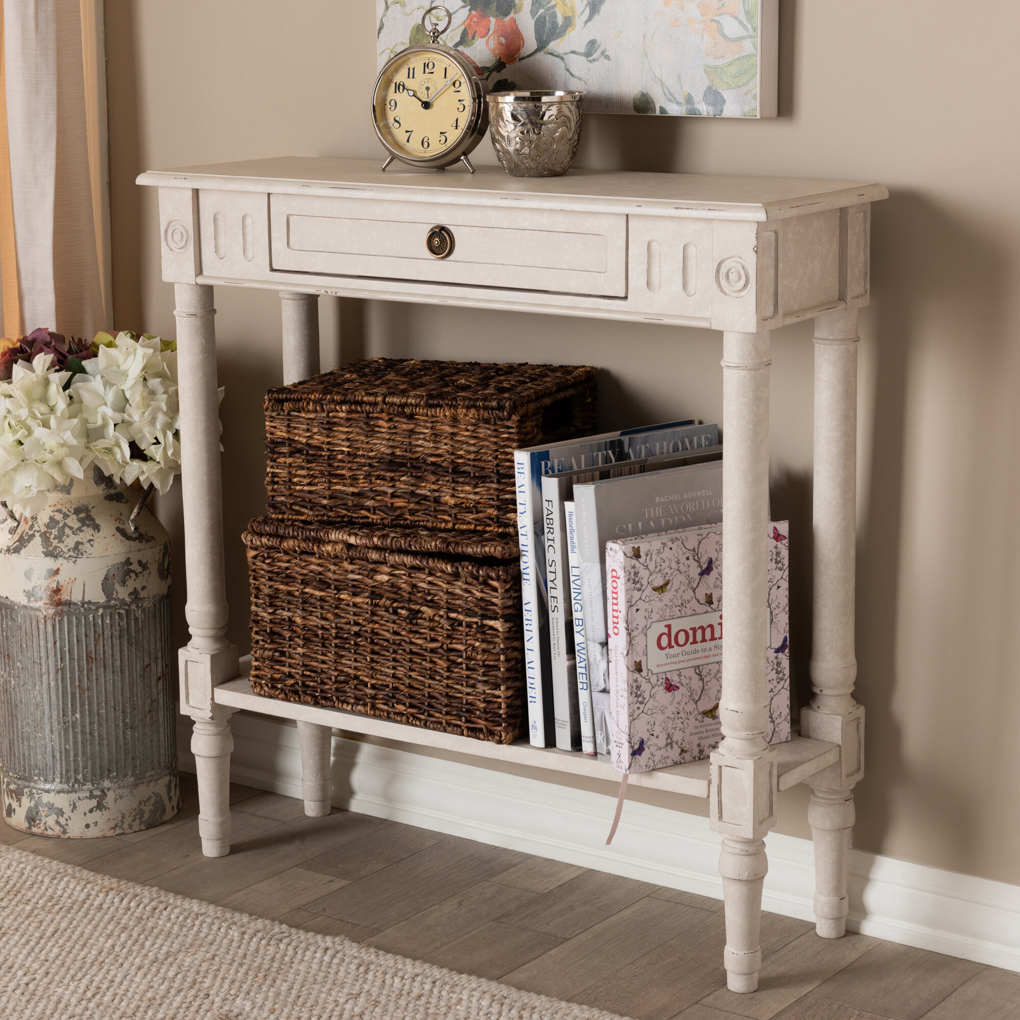 August Grove Nakagawa Console Table U0026 Reviews | Wayfair