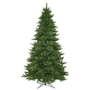 camdon fir 95 green artificial christmas tree with unlit with stand