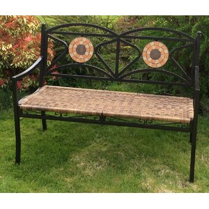 Gartenbank Alice aus Metall von M Furniture