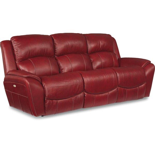 La Z Boy Barrett Leather Reclining Sofa U0026 Reviews | Wayfair
