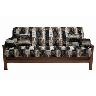 Elysian Fields Box Cushion Futon Slipcover Set by Blazing Needles