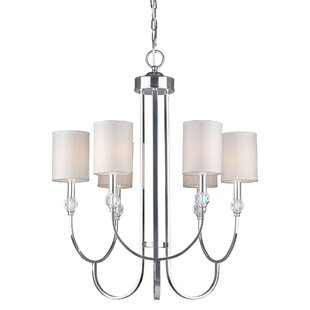 Mercer41 Bemis 6-Light Shaded Chandelier