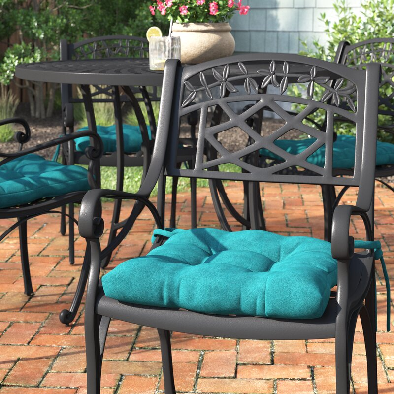Andover Mills Indoor Outdoor Dining Chair Cushion Reviews Wayfair