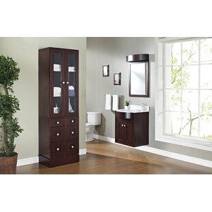 Rosemont Floor Mount 26 Single Bathroom Vanity Set