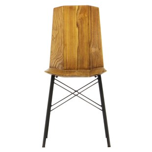Port Augusta Industrial Dining Chair (Set..