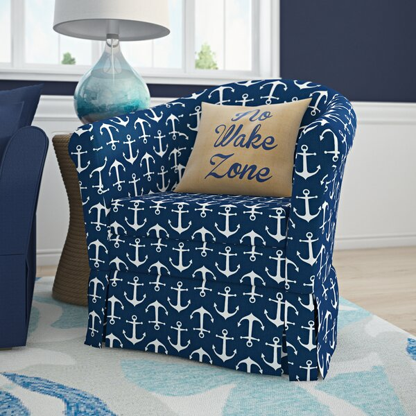 Upholstered Skirted Chair | Wayfair