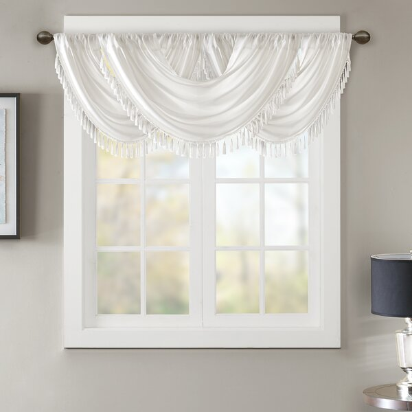 Astoria Grand Alland Scalloped 46 Window Valance Reviews Wayfair