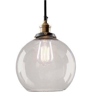 Warehouse of Tiffany Maisie Edison 1 Light Globe Pendant