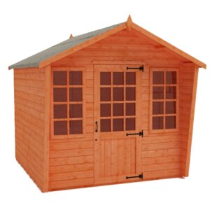 Sunlit 10 X 8 Ft. Shiplap Summer House By Tiger Sheds