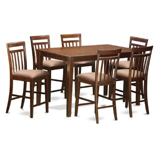 Araminta 7 Piece Counter Height Pub Table Set by Alcott Hill