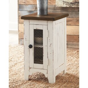 Bromsgrove End Table with Storage by Gracie Oaks