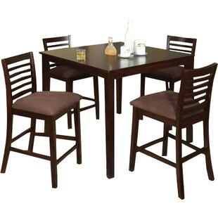 Sydney 5 Piece Counter Height Dining Set by Hokku Designs Best