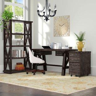 Langsa 3 Piece Desk Office Suite by Laurel Foundry Modern Farmhouse