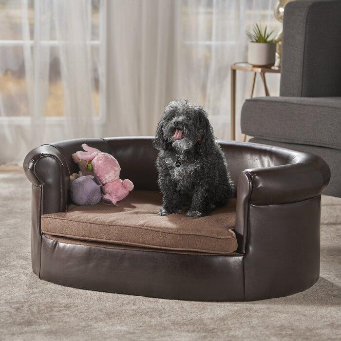 Desmond Leather Dog Sofa