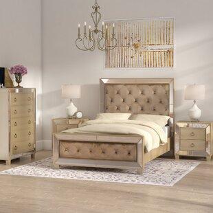 Mirrored Bedroom Set | Wayfair