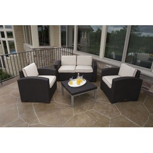 Loggins 4 Piece Loveseat Set w..