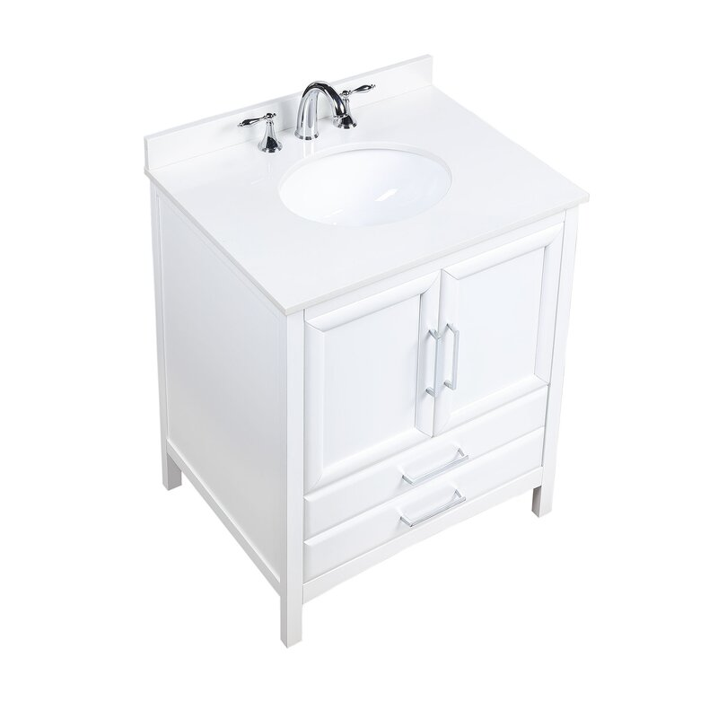 "Wycombe 30"" Single Bathroom Vanity Set"