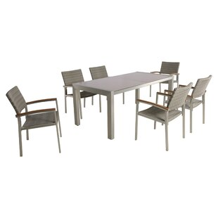 Boltongate Outdoor 7 Piece Dining Set