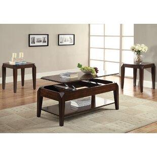 A&J Homes Studio Docila 2 Piece Coffee Table Set