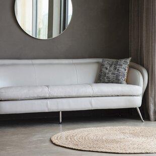 Horacia Genuine Leather 3 Seater Sofa By Metro Lane