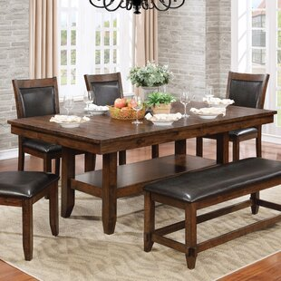 Electra 6 Piece Extendable Dining Set Loon Peak