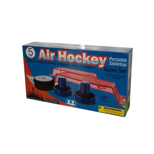 KoleImports Portable Battery Operated Tabletop Air Hockey Game Set U0026  Reviews | Wayfair