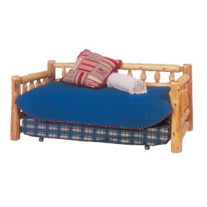 Traditional Cedar Log Daybed by Fireside Lodge Image