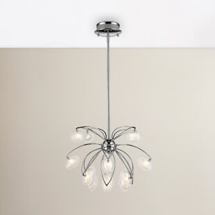 Brayden Studio Sheedy 16-Light LED Sputnik Chandelier