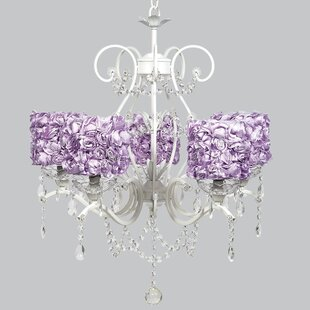Purple shade chandeliers youll love wayfair save to idea board mozeypictures Image collections