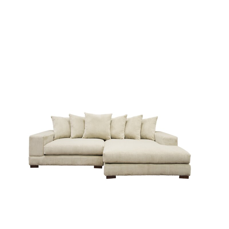 Luxe Sectional & Reviews | AllModern