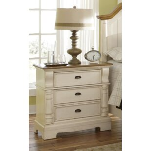 Rosecliff Heights Windham 3 Drawer Nightstand