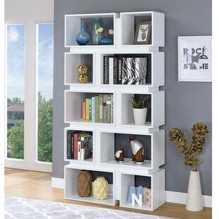 Wirriana Geometrically Wooden Cube Unit Bookcase by Brayden Studio