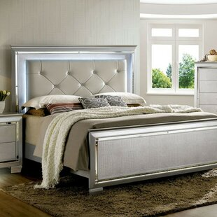Compare Redwood Contemporary Upholstered Panel Bed by Rosdorf Park Reviews (2019) & Buyer's Guide