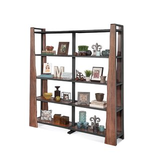 Imogene Industrial Bunching Etagere Bookcase by Loon Peak