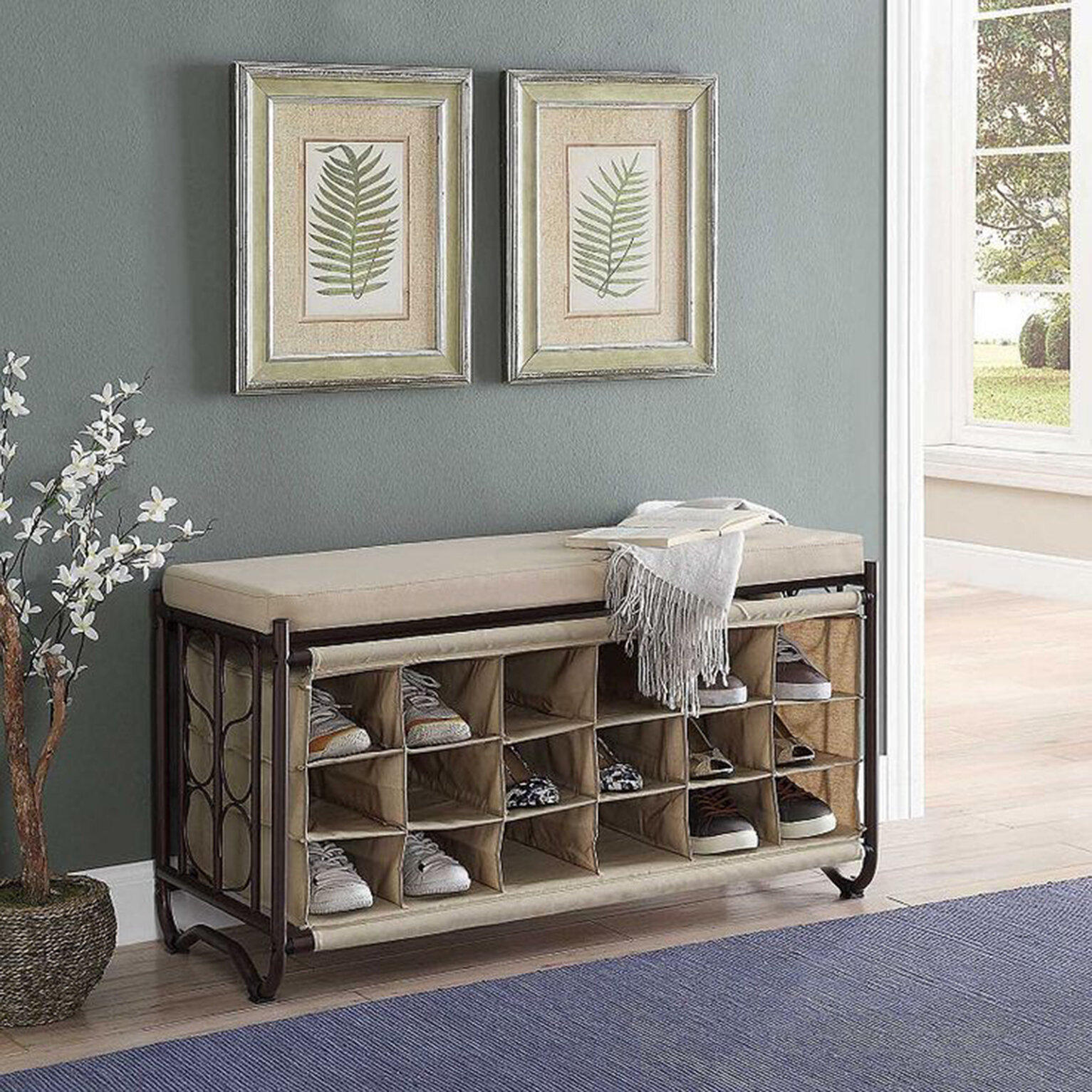 Picture of: 18 Pair Shoe Storage Bench Reviews Birch Lane