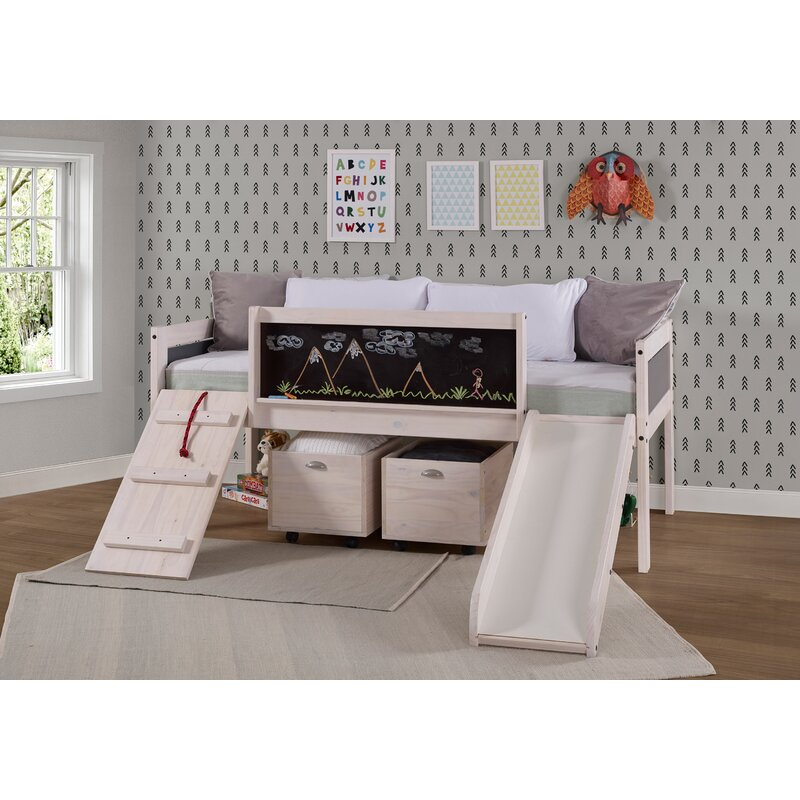 Zoomie Kids Schmid Twin Low Loft Bed Reviews Wayfair