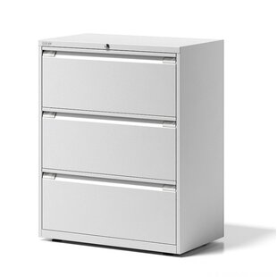 Essentials 3 Drawer Filing Cabinet By Bisley