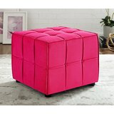 Margene Allover Tufted Cube Ottoman by Ivy Bronx