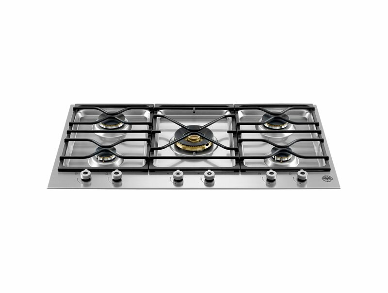 Bertazzoni Pro Series 35 Gas Cooktop with 5 Burners