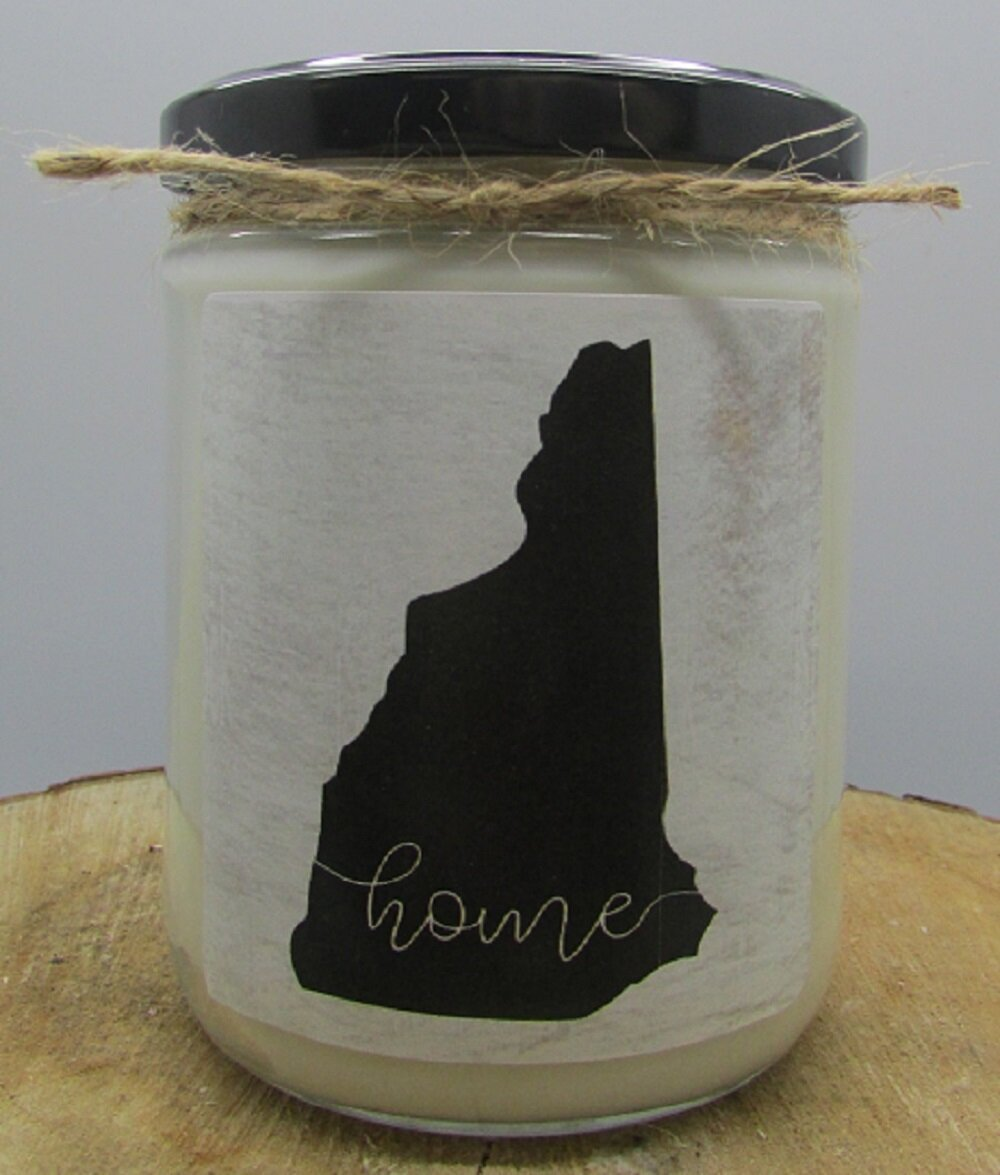 Gracie Oaks New Hampshire State Cranberry Scented Jar Candle Wayfair