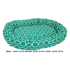 Titan Indoor/Outdoor Bolster Dog Bed