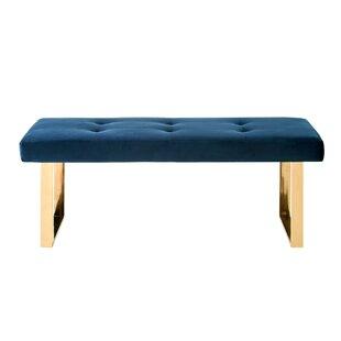Bissett Upholstered Bench by Mercer41