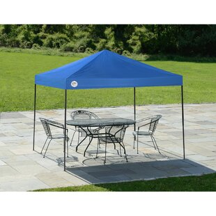 Shade Tech 10 Ft. W x 8 Ft. D Steel Pop-Up Canopy by QuikShade